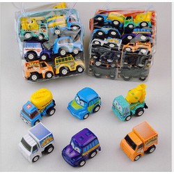 Set 6 xe ô tô mini chạy trớn - 02