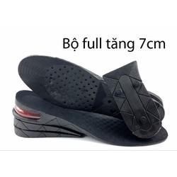 Lót giày tăng chiều cao đệm khí tăng 3-5-7cm