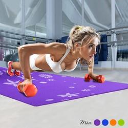 Thảm tập yoga họa tiết có túi đựng