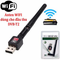 Anten WIFI dùng cho đầu thu DVB-T2 Hùng Việt HV-168 TS-123Internet
