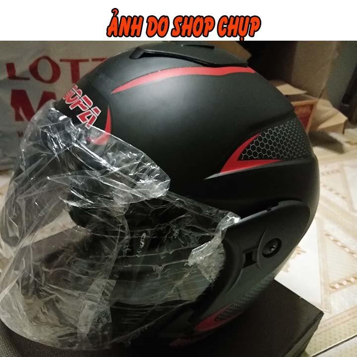 Nón bảo hiểm xe mô tô BOPA MODEL - 2018 3