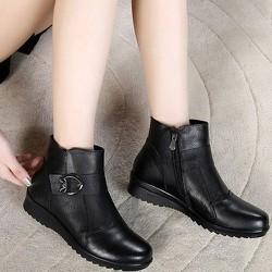 Giày boot nữ phong cách cá tính B103
