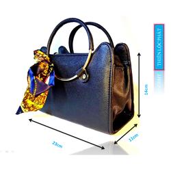 Túi xách tay nữ quấn khăn thời trang hàng hiệu