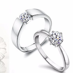 Nhẫn đôi   nhẫn đôi - quà tặng tình yêu NH9Y2A