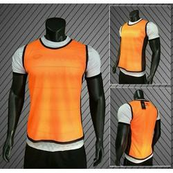 Áo tập bóng đá màu cam