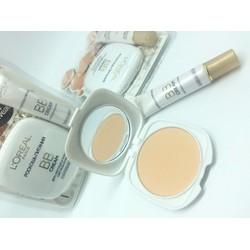 Bộ makeup 1 phấn phủ BB Loreal và 1 kem lót BB Loreal