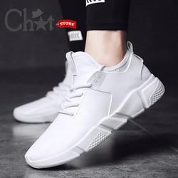 Giày Sneaker Nam Cổ Thấp Thiết Kế Cực Ngầu