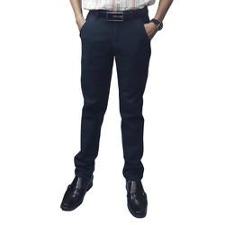 Quần kaki nam co giãn màu xanh đen - KK-012