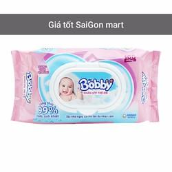Khăn ướt trẻ em Bobby chính hãng