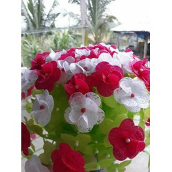 hoa lụa trưng tết giá rẻ làm kỹ chắc chắn