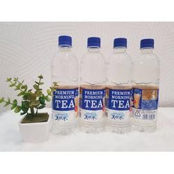 Nước suối vị trà sữa Premium Morning Tea Suntory Nhật Bản