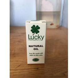 Tinh dầu lucky 100 nguyên chất. mùi. bạc hà. 10ml