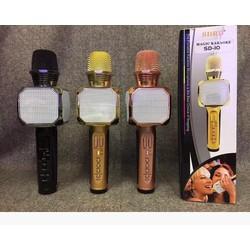 Micro hát karaoke SD-10 kèm loa Bluetooth