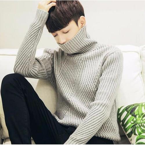 Áo len cao cổ form rộng thời trang Lâm Anh