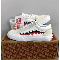 giầy vans cá mập