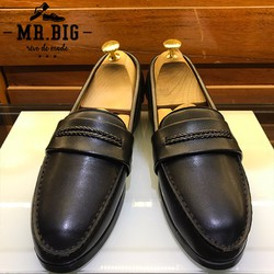 Giày Da nam L118-1 Giày lười Giày mọi nam cho chàng công sở