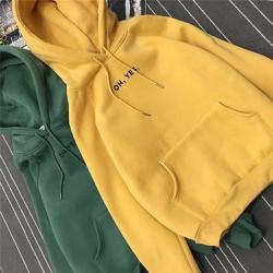 Áo khoác hoodie vải nỉ tay dài hàn quốc 90125