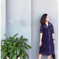 Set Ren Pijama Xanh Đen