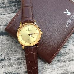 Đồng hồ nam dây da Sunrise mã 1142 chất lượng tốt