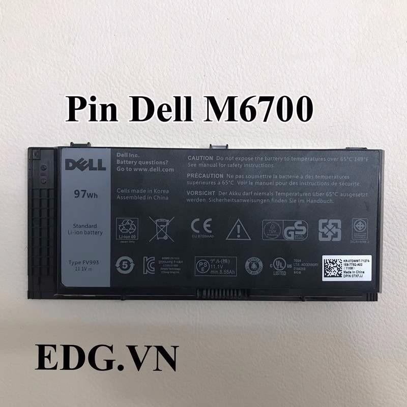 Pin Laptop Dell M6600 M6700 M6800 – Pin M6600 M6700 M6800 97W