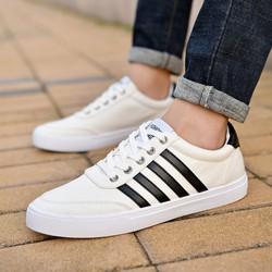 Giày Vans sọc nam đen trắng  - S 030
