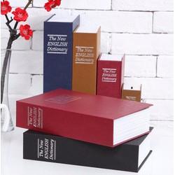 Két sắt mini hình quyển sách