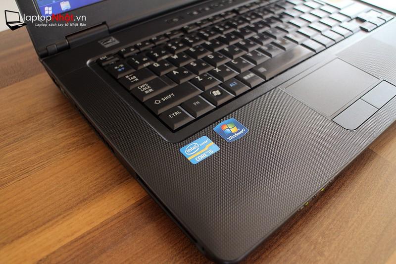 Laptop Toshiba i5 8G 500G 15in Siêu phẩm Made in japan 8