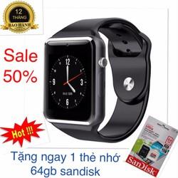 Đồng hồ thông minh a1 tặng thẻ 64G