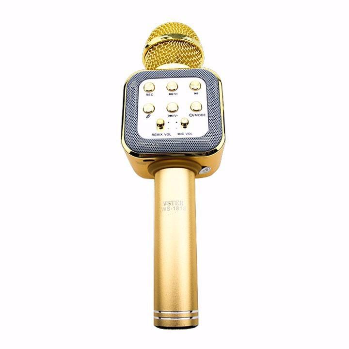 Micro karaoke Bluetooth cao cấp WSTER WS-1818 1