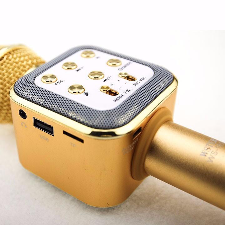 Micro karaoke Bluetooth cao cấp WSTER WS-1818 4