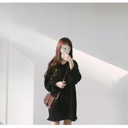 Đầm len Freesize Style Hàn quốc