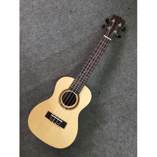 đàn ukulele mặt gỗ