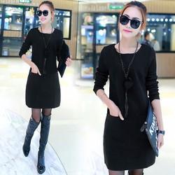 Kiểu áo đầm nữ, VN119 3 MÀU, Thời trang Azado