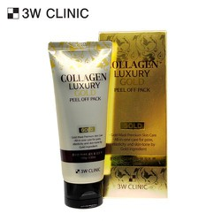 MẶT NẠ LỘT TINH CHẤT COLLAGEN LUXURY GOLD PEEL OFF PACK 3W CLINIC