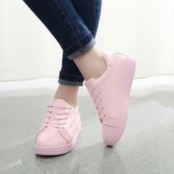 giày sneaker hồng