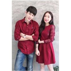 Sét Áo Váy Cặp Tình Nhân 4LOVE -AV119 - màu đỏ