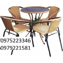 bộ bàn ghế cafe cần bán gấp giá siêu rẻ