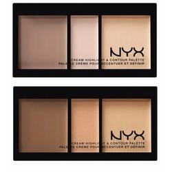 Bảng Tạo Khối NYX Cream Highlight  Contour Palette
