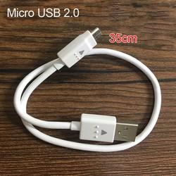 cáp sạc micro usb dùng đề sạc từ pin dự phòng qua điện thoại cáp zin