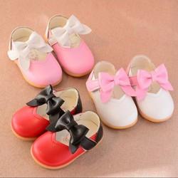 giày tập đi da mềm cho bé