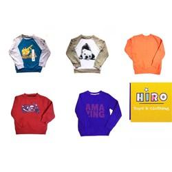 áo nỉ cho bé 12 tháng - 4 tuổi - hàng xuất Mỹ