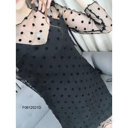 Đầm suông bi tay dài kèm lót hàng nhập! MS: S061226 Giá sỉ: 125k