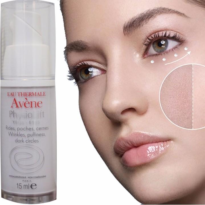 Kem dưỡng mắt chống lão hoá, nhăn, thâm mắt, bọng mắt Avene Physiolift eyes - ảnh 3