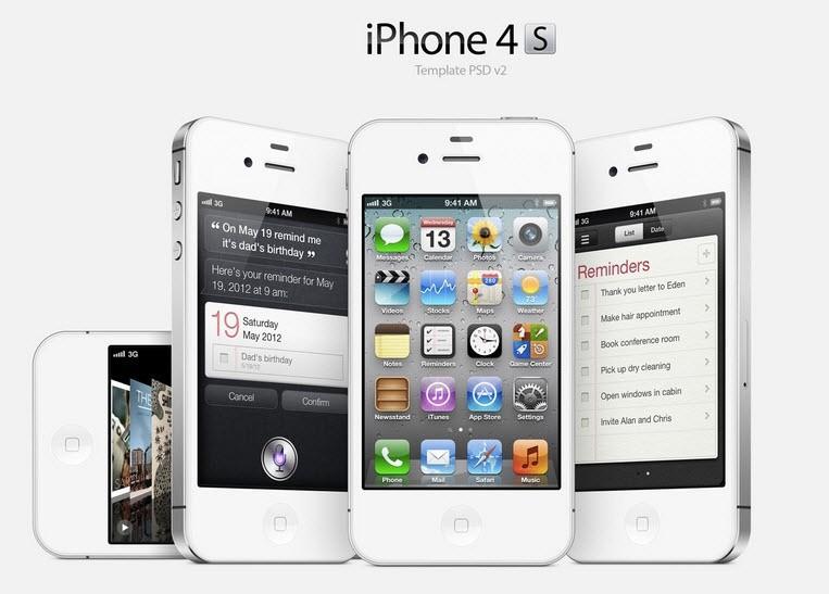 Điện thoại iphone 4s 16G quốc tế Full Box 4
