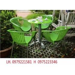 bàn ghế dùng cho quán cafe với giá cực rẻ, hàng mới 100