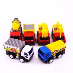 Bộ 8 ô tô đồ chơi chạy cót size to