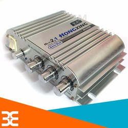 [XẢ KHO] Mạch âm ly Hifi 2.1 HX168AH 300w+300w 12VDC loa trầm