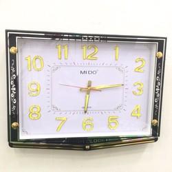 Đồng hồ treo tường hình vuông Vati F55 quà tân giá ý nghĩa