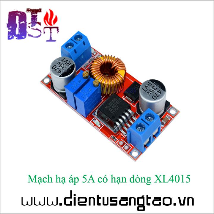 Mạch hạ áp 5A có hạn dòng XL4015 3