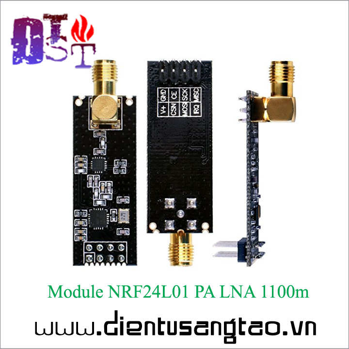 Module NRF24L01 PA LNA 1100m + Anten 3
